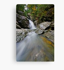 Bingham Falls - Midstream - Wide Canvas Print