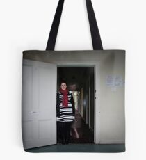 Ghost In The House Tote Bag