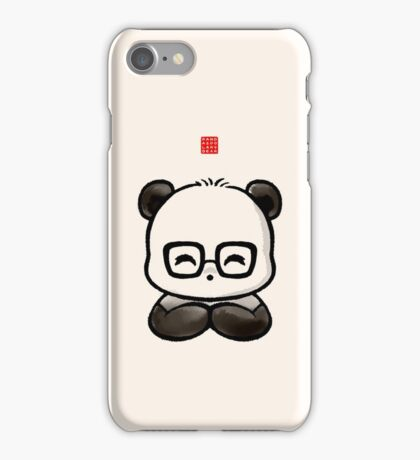 Geek Chic Panda iPhone Case/Skin