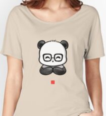 Geek Chic Panda Women's Relaxed Fit T-Shirt