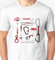Climbing Equipment Design Unisex T-Shirt