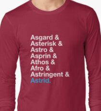 That's A Beautiful Name. Long Sleeve T-Shirt