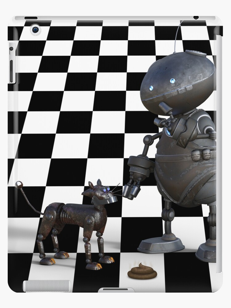 Funny Robot Dog Dangers Of Ai Ipad Case Skin By Podartist