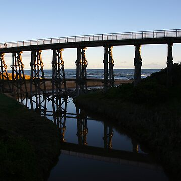 kilcunda bridge. gippsland - victoria by bodhiimages