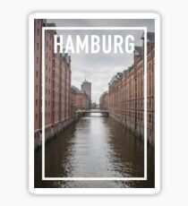 HAMBURG FRAME Sticker