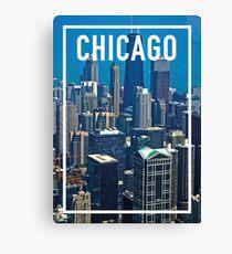 CHICAGO FRAME Canvas Print