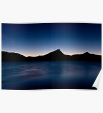 Twilight on Estes Lake Poster