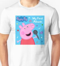 Peppa Pig - My First Album Slim Fit T-Shirt