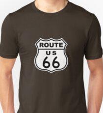 Route 66 Sign Unisex T-Shirt