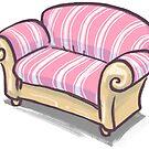 Sofa von Raimund Frey