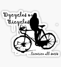 Dycycles on Bicycles Sticker