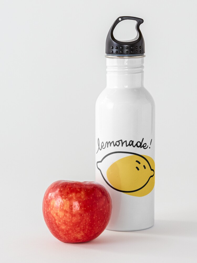 Alternate view of When life gives you lemon... Water Bottle