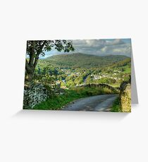 Backbarrow,Cumbria Greeting Card