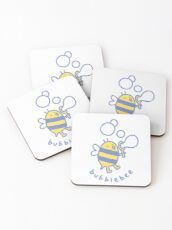 Bubblebee Coasters