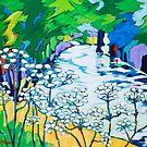 River Flowers by annickmckenzie