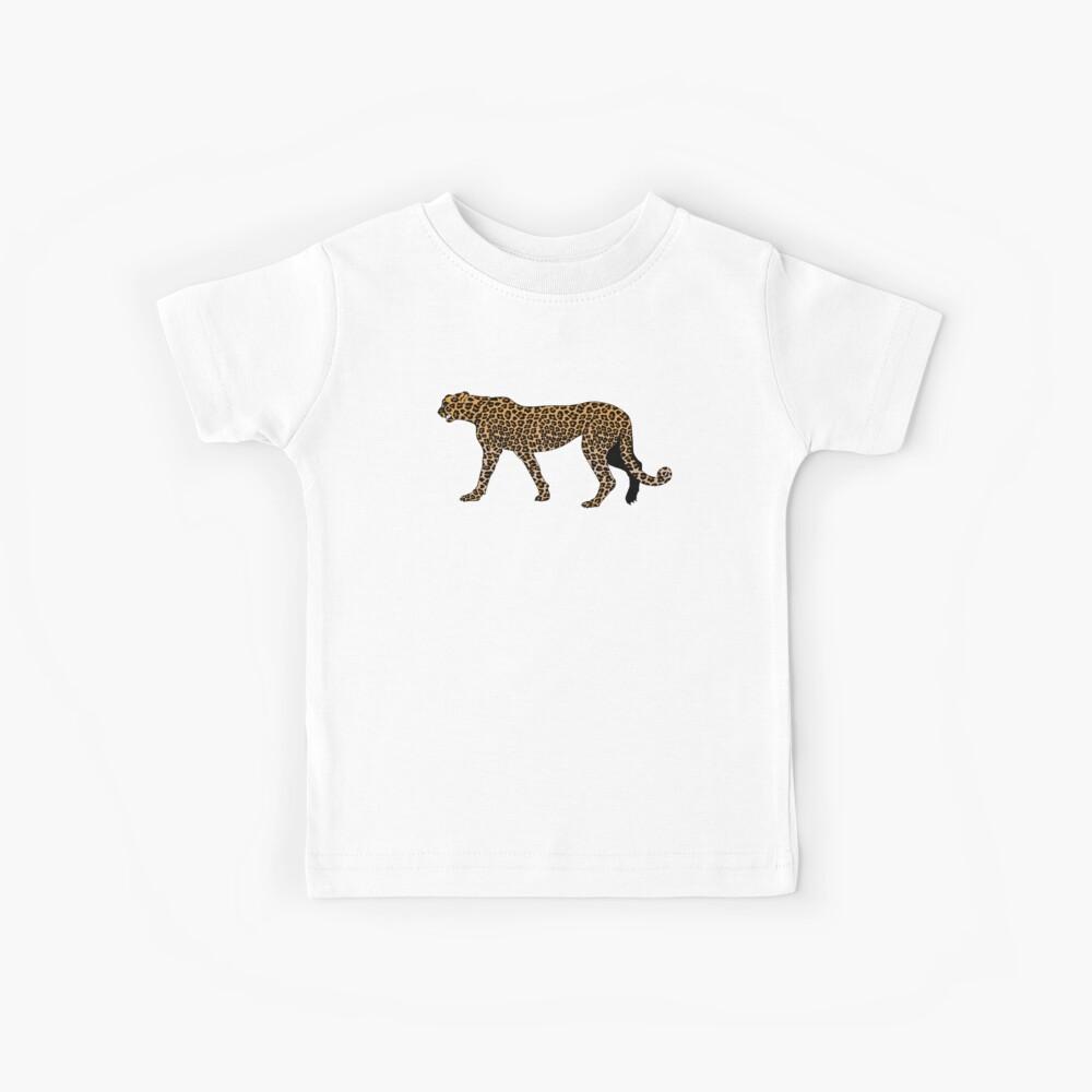 Estampado de leopardo Camiseta para niños