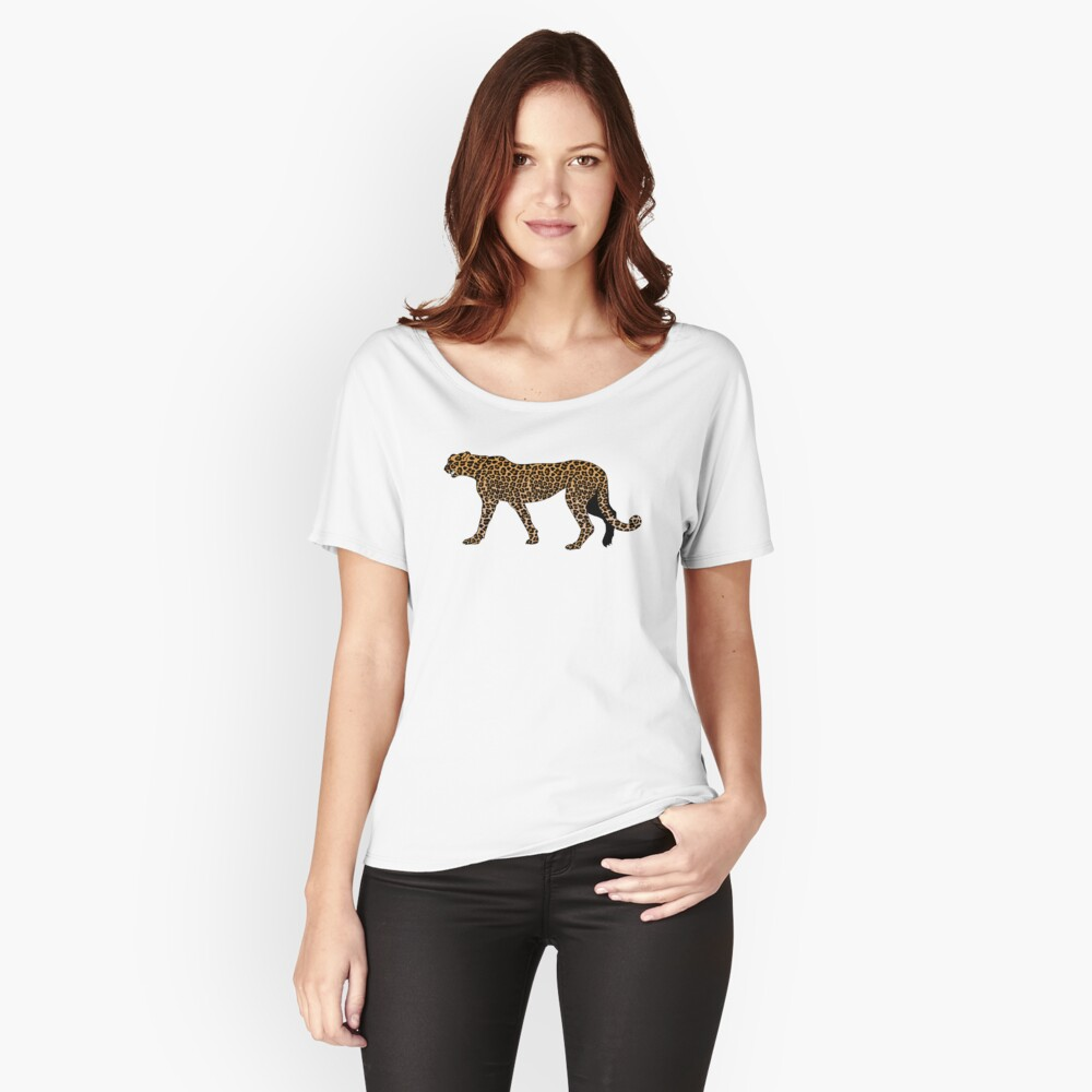 Leopard print Relaxed Fit T-Shirt