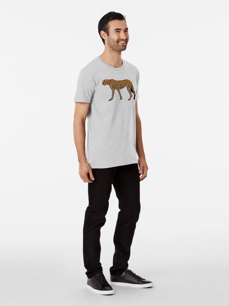Alternate view of Leopard print Premium T-Shirt