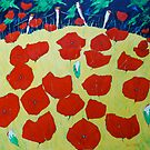 Poppy love 2 by annickmckenzie