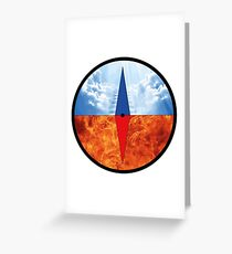 Moral Compass  Greeting Card