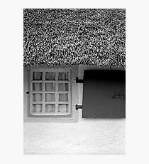 Burns Cottage Window Photographic Print