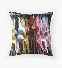 Bra Throw Pillow