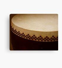 temple drum Canvas Print
