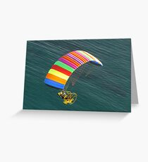 The Freedom of Flight Greeting Card
