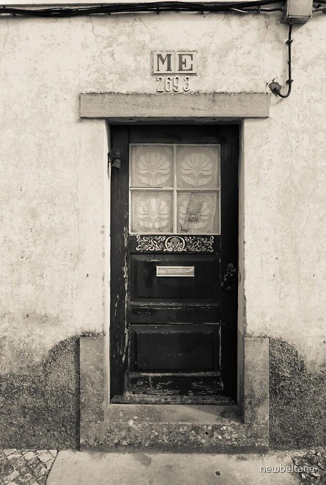 Old Door Portugal by newbeltane