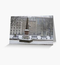 Remembering who was there Greeting Card