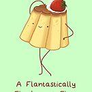 A Flantastically Flanboyant Flan by Katie Corrigan