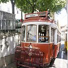 Old Tram, Lisbon by newbeltane