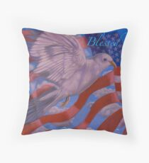 Dr King   ''BLESSED ARE THE PEACEMAKERS''    Throw Pillow