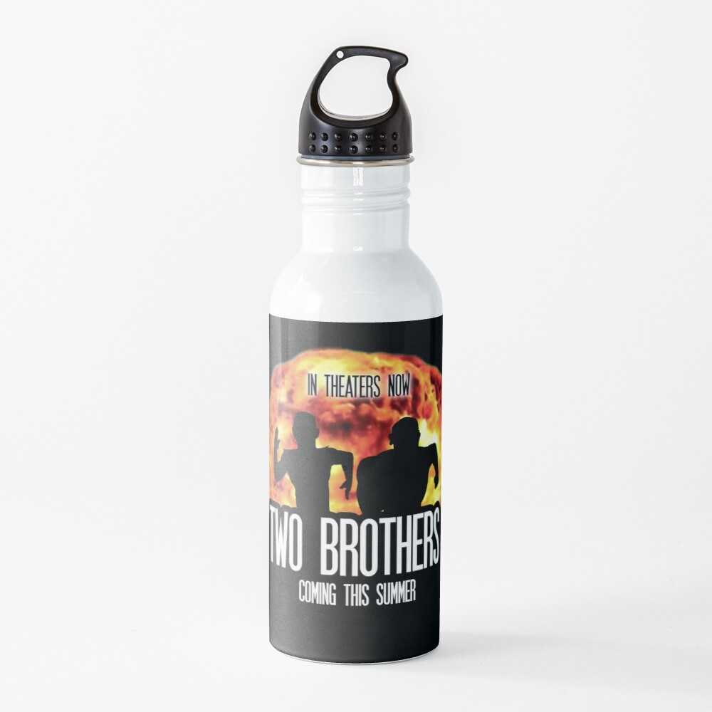 Two Brothers Live Action Movie Rick And Morty Water Bottle