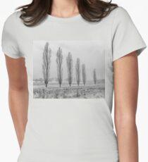 Winter Trees - Uralla NSW Australia Womens Fitted T-Shirt