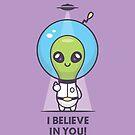 Motivational Alien by zoljo