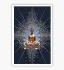 Buddha Statue - Enhanced  Sticker
