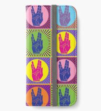 Star Trek Spock Hand Pop Art 1 iPhone Wallet/Case/Skin