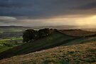 Late Light Above Eastby Crags by SteveMG