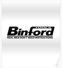 Binford Tools Home Improvement Poster