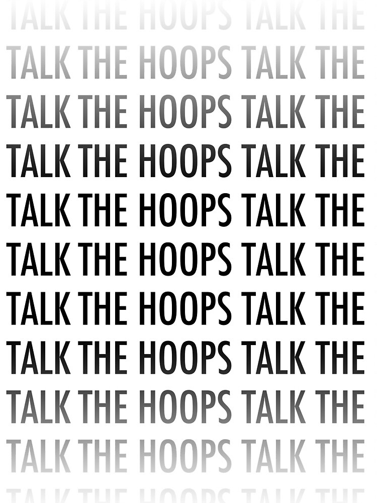 The Hoops Talk Tote by TheHoopsTalk