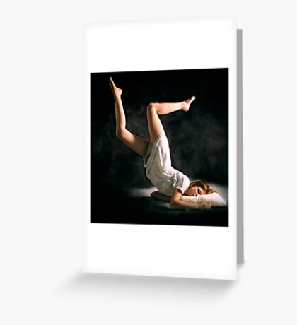The Runner Greeting Card