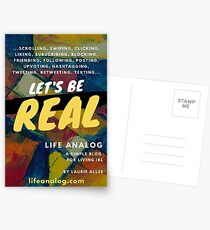 Let's Be Real: lifeanalog.com Postcards