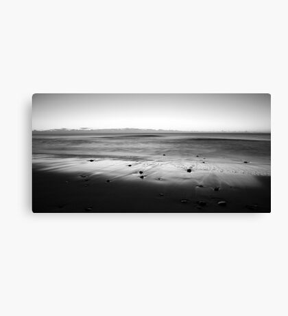 Welcoming the dawn Canvas Print