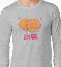 Elephant Duck Kanji Long Sleeve T-Shirt