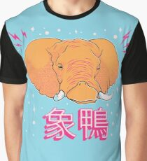 Elephant Duck Kanji Graphic T-Shirt