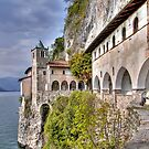 Hermitage S. Caterina del Sasso by paolo1955
