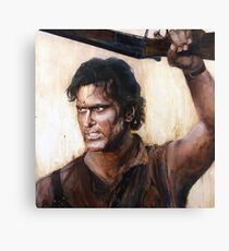 Bruce Campbell V.S Army of Darkness Canvas Print