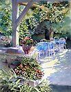 Sunny Terrace by Ann Mortimer