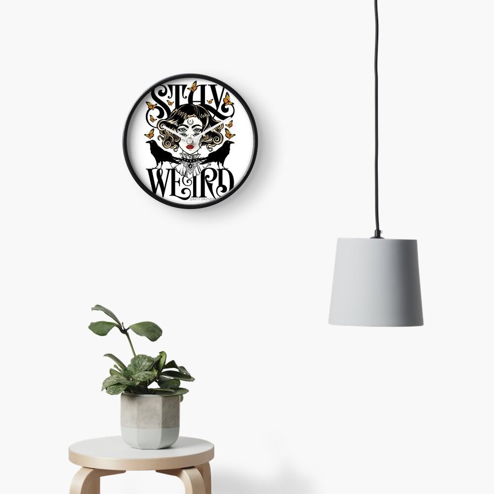 Rose und die Ravens {Bleib Weird} Color Version Uhr